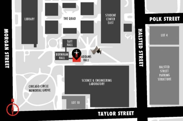 Aacc Main Campus Map.African American Cultural Center University Of Illinois At Chicago