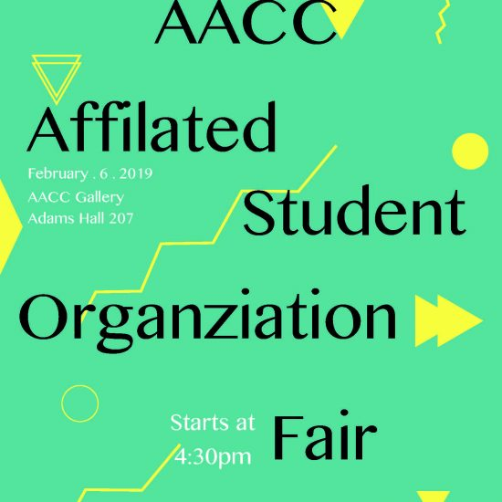 AACC Affiliated Student Org Fair