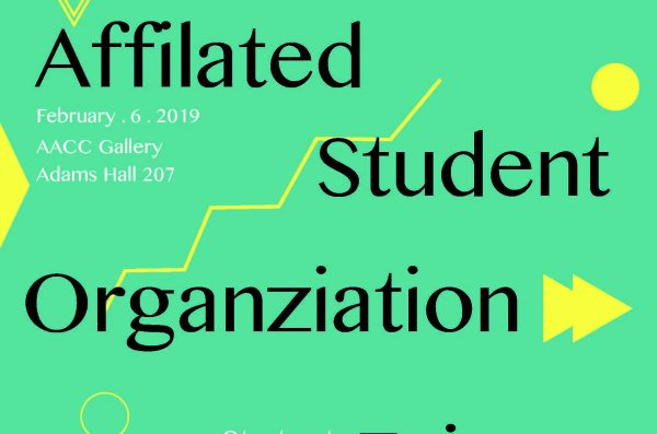 student org fair flyer