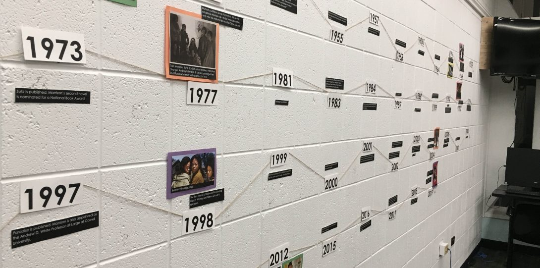 Toni Morrison Timeline