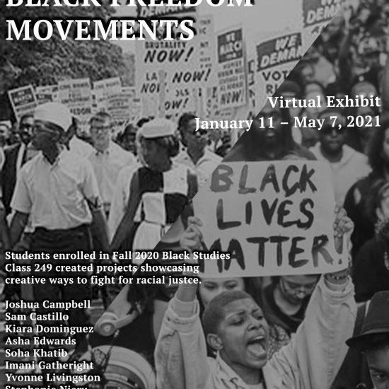 Representing Black Freedom Movements