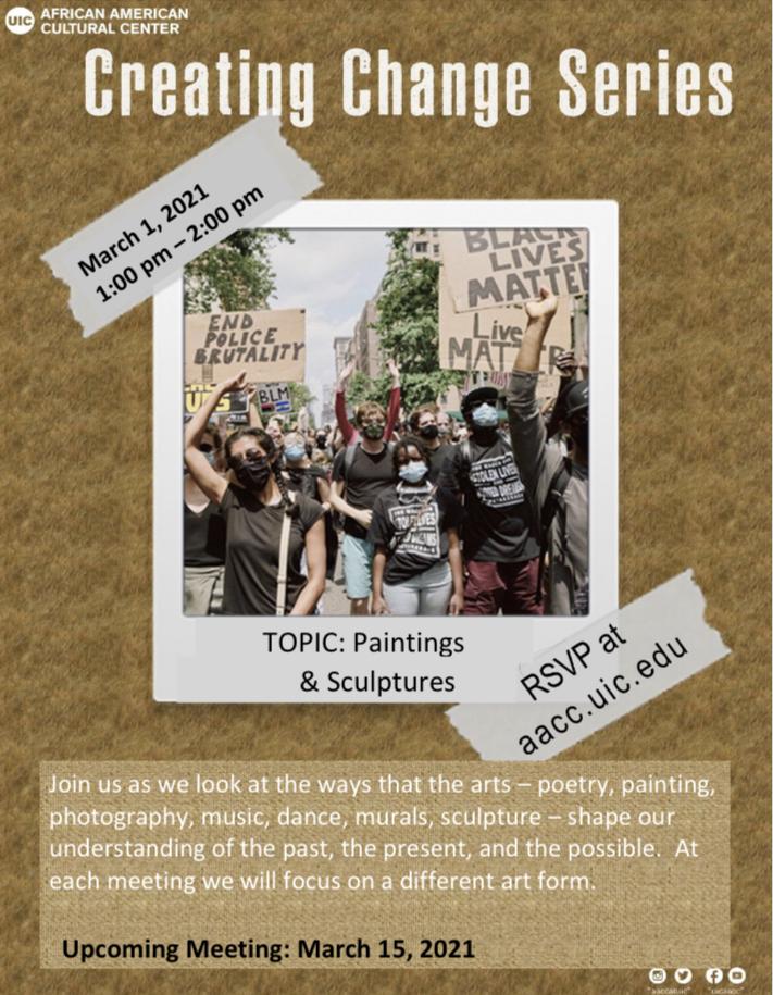 creating change series flyer